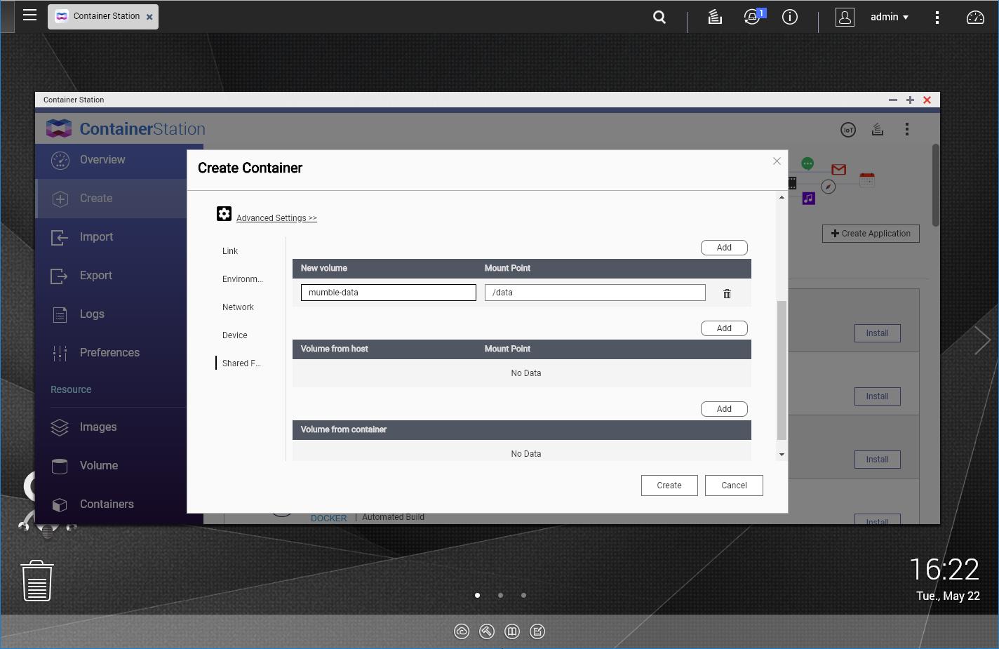 Setup Mumble Server on QNAP Container using Docker – Poyu